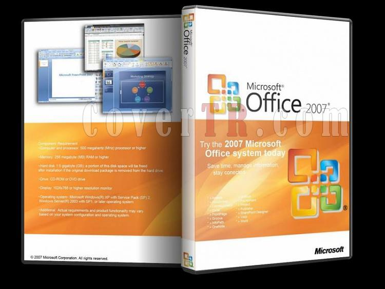 Microsoft Office 2007 - Custom Dvd Cover - English [2007]-microsoft_office_2007jpg