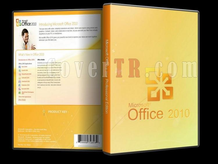 Microsoft Office 2010 Professional - Custom Dvd Cover - English [2010]-microsoft_office_2010_professionaljpg