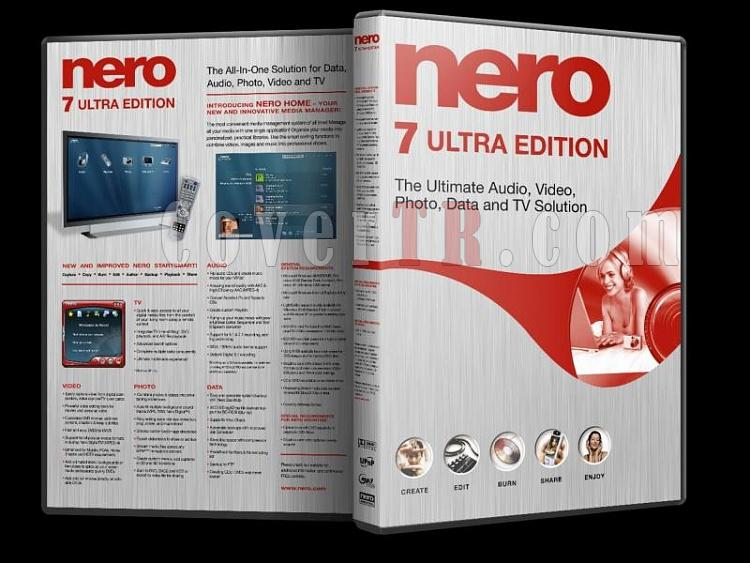 Nero 7 Ultra Edition - Custom Dvd Cover - English [2007]-nero_7_ultra_editionjpg