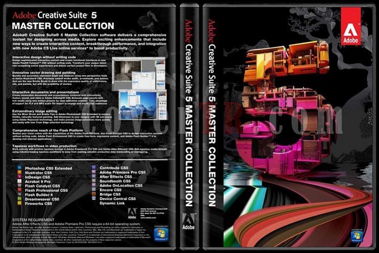 Adobe CS5 Master Collection  - Custom Dvd Cover - English [2010]-adobe_cs5_master-_collection_-_custom_dvd_cover_-2010-jpg