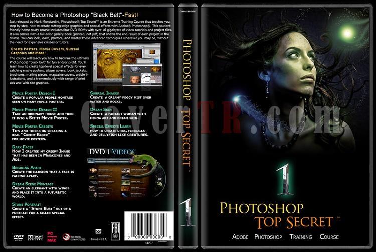 Photoshop Top Secret - Custom Dvd Cover Set - English-1jpg