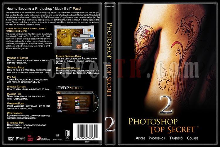 Photoshop Top Secret - Custom Dvd Cover Set - English-2jpg