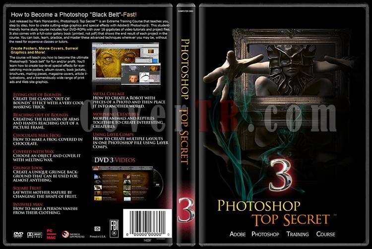 Photoshop Top Secret - Custom Dvd Cover Set - English-3jpg
