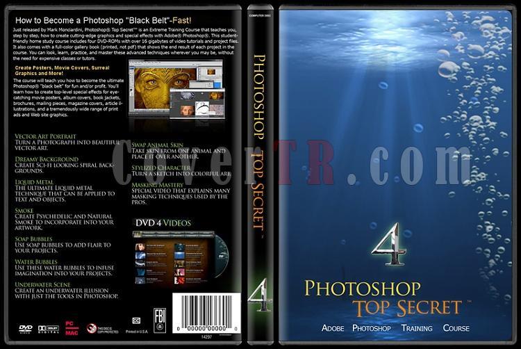 Photoshop Top Secret - Custom Dvd Cover Set - English-4jpg