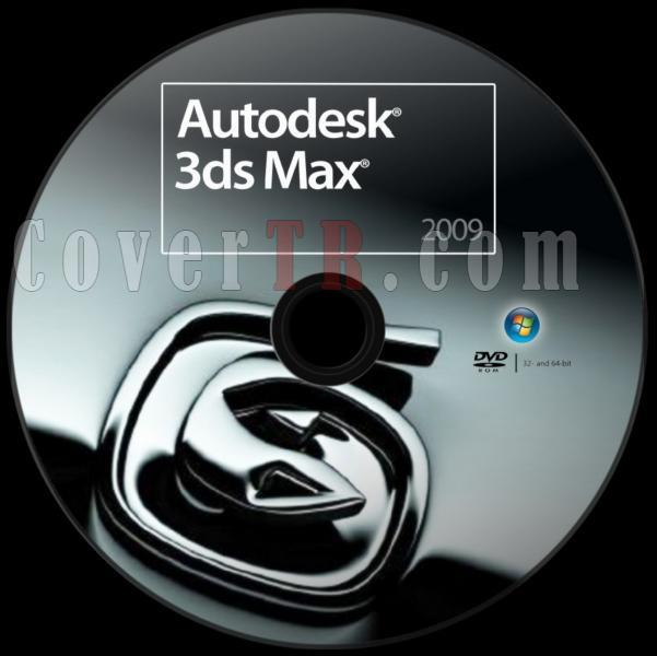 Autodesk 3ds Max 2009 - Custom Dvd Label - English [2008]-autodesk_3ds_max_2009_dvd_labeljpg