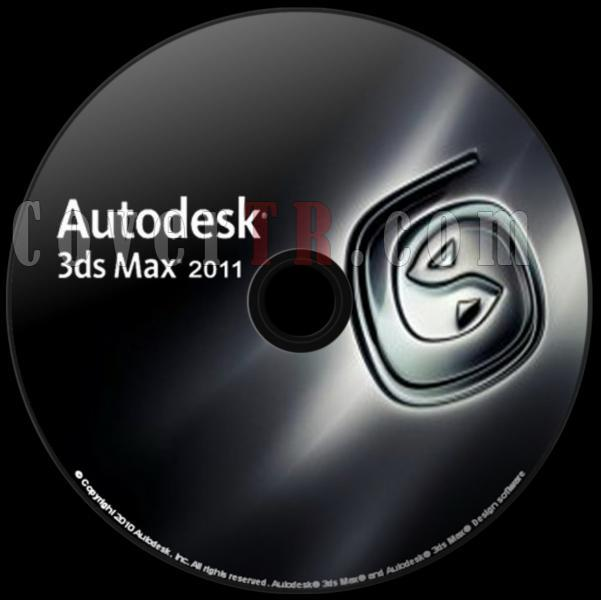 Autodesk 3ds Max 2011 - Custom Dvd Label - English [2010]-autodesk_3ds_max_2011_dvd_labeljpg