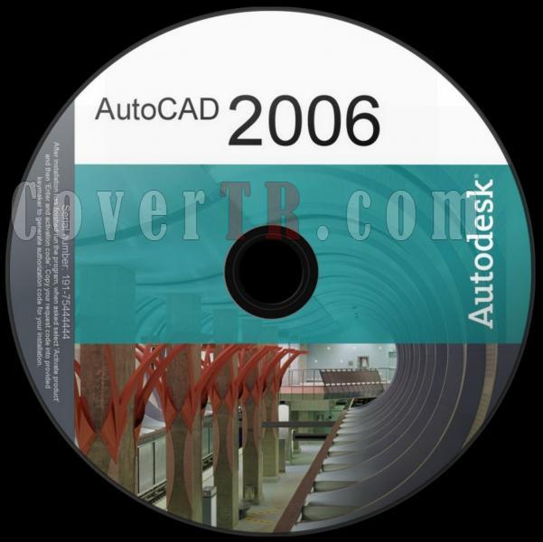 Autodesk AutoCAD 2006 - Custom Dvd Label - English [2005]-autodesk_autocad_2006_dvd_labeljpg