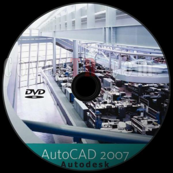 Autodesk AutoCAD 2007 - Custom Dvd Label - English [2006]-autodesk_autocad_2007_dvd_labeljpg