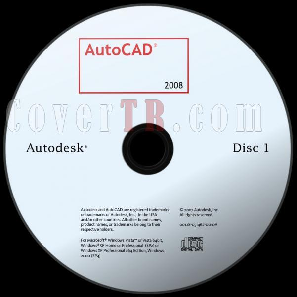 Autodesk AutoCAD 2008 - Custom Dvd Label - English [2007]-autodesk_autocad_2008_dvd_labeljpg