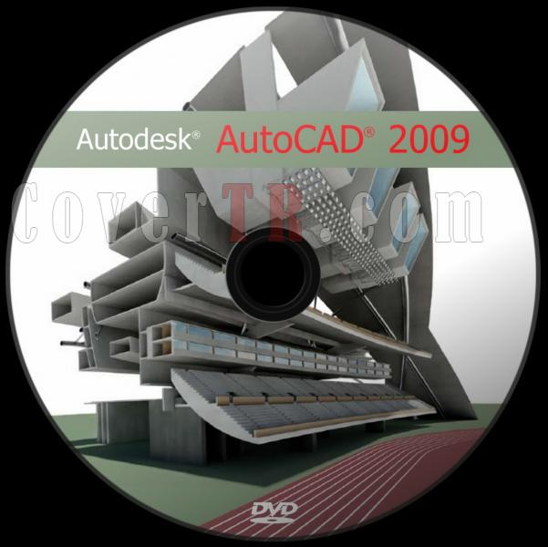 Autodesk AutoCAD 2009 - Custom Dvd Label - English [2008]-autodesk_autocad_2009_dvd_labeljpg