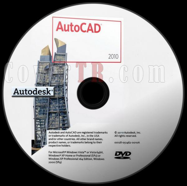 Autodesk AutoCAD 2010 - Custom Dvd Label - English [2009]-autodesk_autocad_2010_dvd_labeljpg