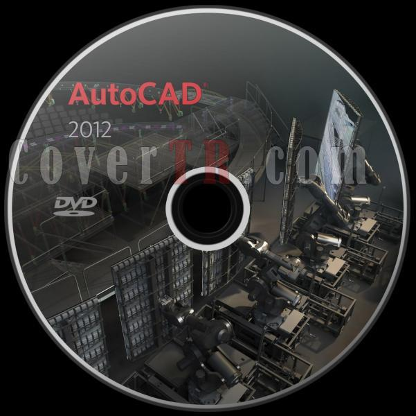 Autodesk AutoCAD 2012 - Custom Dvd Label - English [2011]-autodesk_autocad_2012_dvd_labeljpg