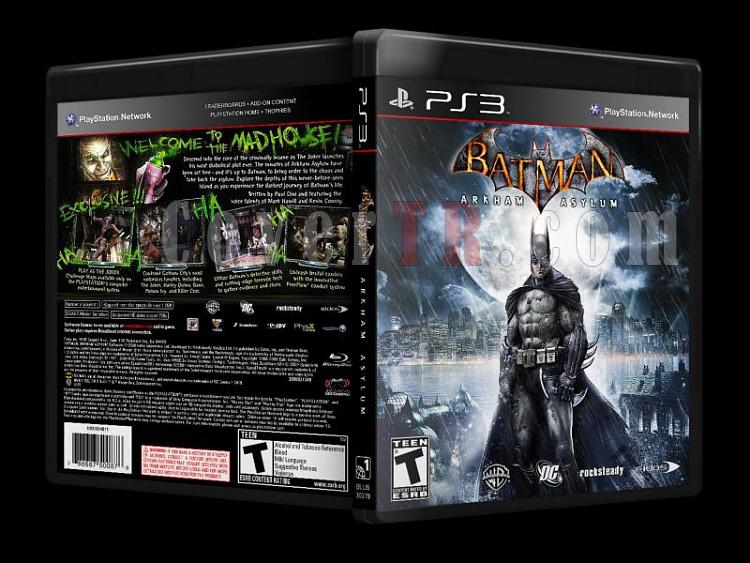 Batman Arkham Asylum - Custom PS3 Cover - English [2009]-batman_arkham_asylum_-_ps3-coverjpg