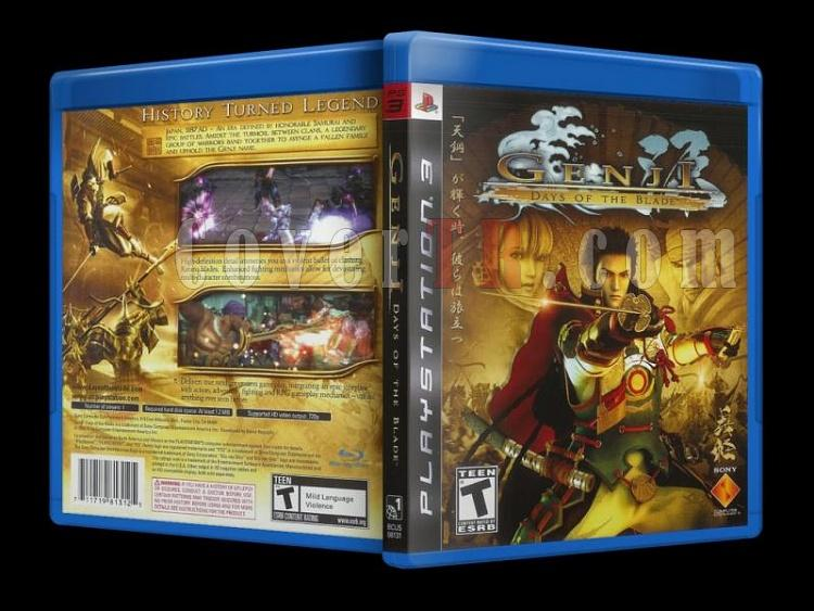 Genji Days Of The Blade - Scan PS3 Cover - English [2006]-genji_days-blade-scan-ps3-cover-english-2006jpg