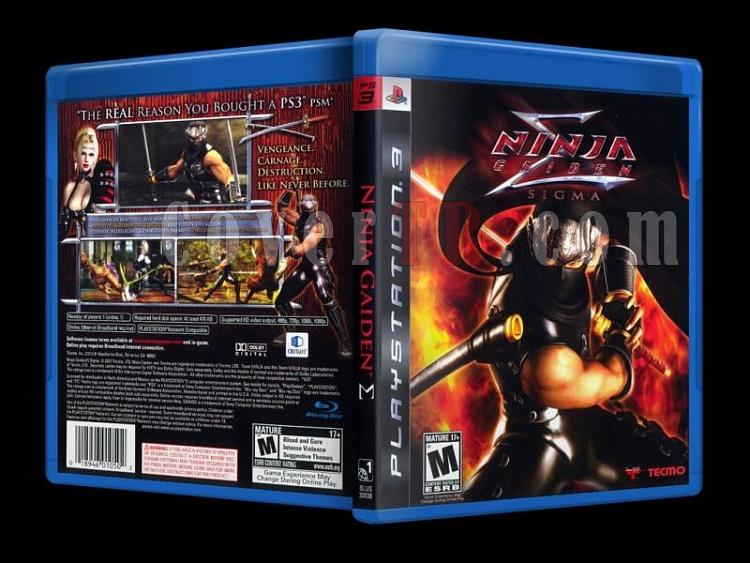Ninja Gaiden Sigma - Scan PS3 Cover - English [2007]-ninja_gaiden-sigma-scan-ps3-cover-english-2007jpg