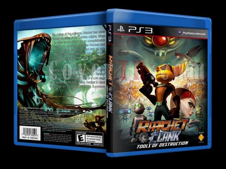 Ratchet & Clank - Scan PS3 Cover - English [2008]-ratchet_-clank-scan-ps3-cover-english-2008jpg