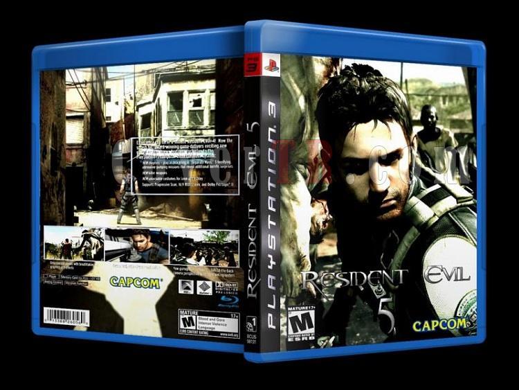 Resident Evil 5 - Custom PS3 Cover - English [2009]-resident_evil-5-custom-ps3-cover-english-2009jpg