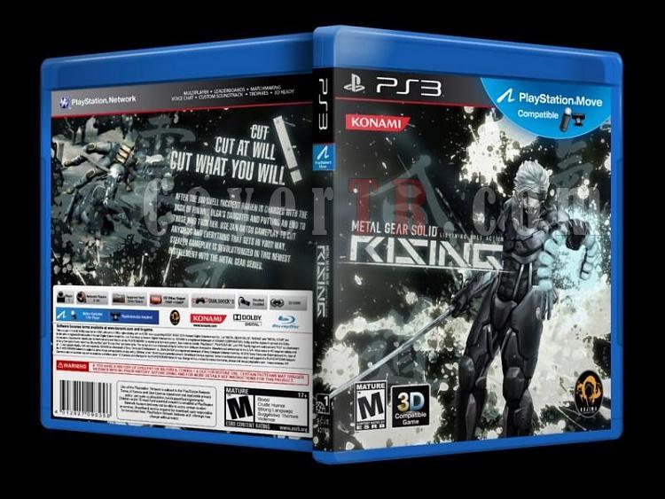 Metal Gear Solid Rising - Custom PS3 Cover - English [2013]-metal_gear-solid-rising-custom-ps3-cover-english-2010jpg
