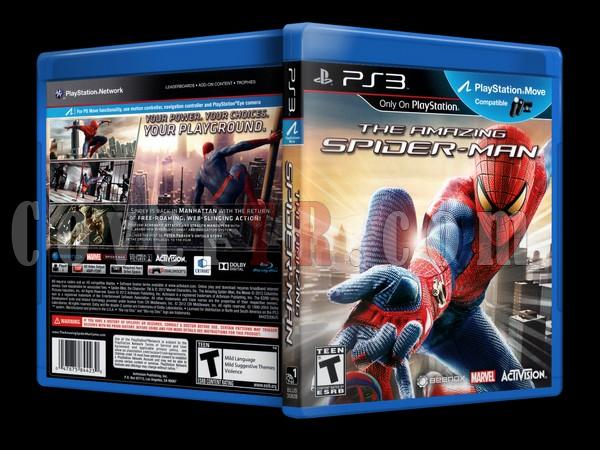 The Amazing Spiderman  - Scan PS3 Cover - English [2012]-spiderjpg