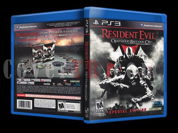 Resident Evil:Operation Raccoon City (SE)  - Scan PS3 Cover - English [2012]-resident-evil-rc-sejpg