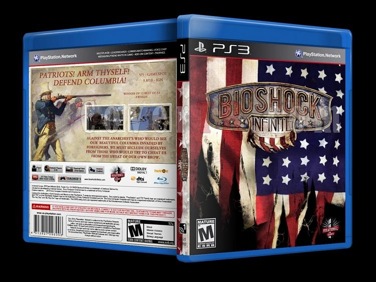 BioShock: Infinite - Custom PS3 Cover - English [2013]-onizlemejpg