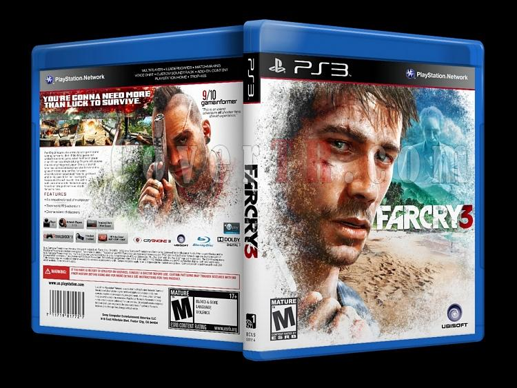 Far Cry 3 - Custom PS3 Cover - English [2012]-onizlemejpg