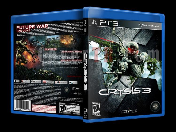 Crysis 3 - Custom PS3 Cover - English [2013]-onizlemejpg