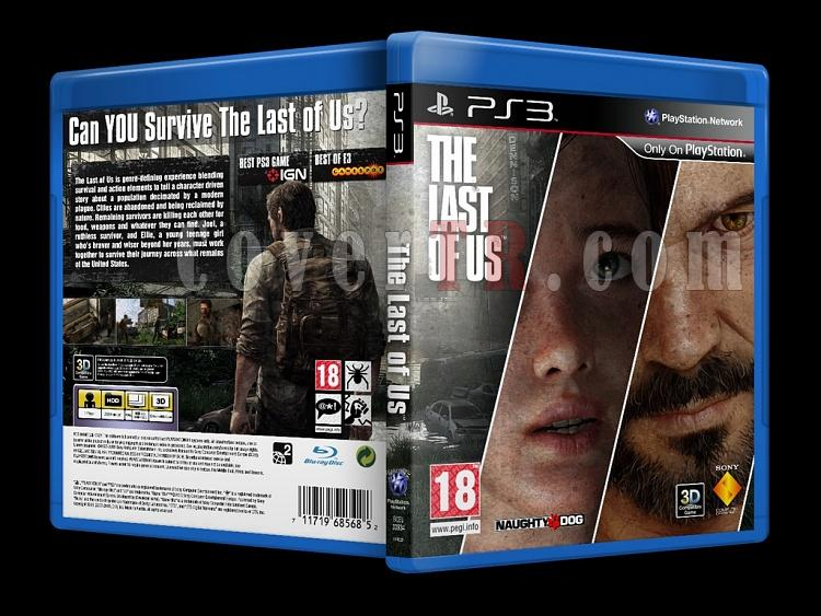 The Last of Us - Custom PS3 Cover - English [2013]-onizlemejpg