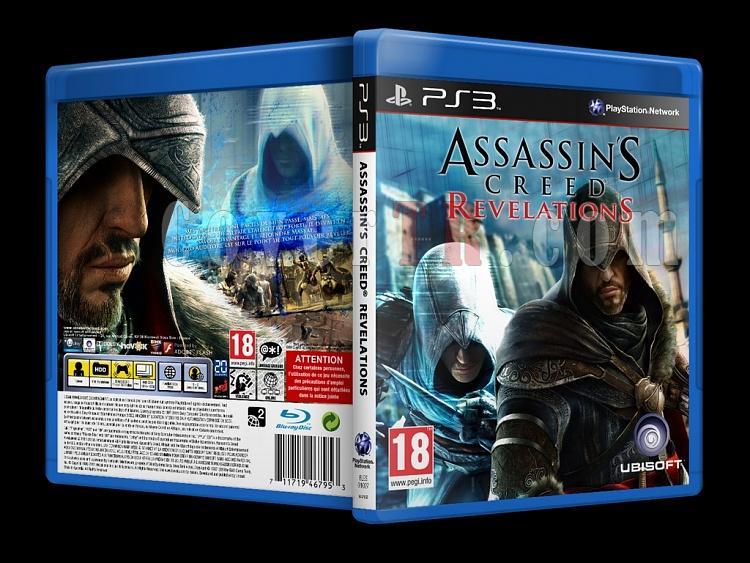 Assassin's Creed: Revelations - Custom PS3 Cover - French [2011]-onizlemejpg