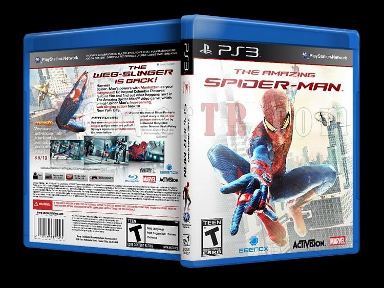 The Amazing Spider-Man - Custom PS3 Cover - English [2012]-onizlemejpg