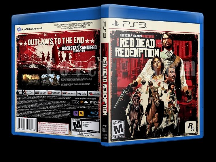 Red Dead Redemption - Custom PS3 Cover - English [2010]-red-dead-redemptionjpg