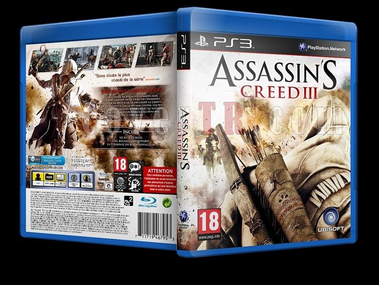 Assassin's Creed III - Custom PS3 Cover - French [2012]-assassins-creed-iiijpg
