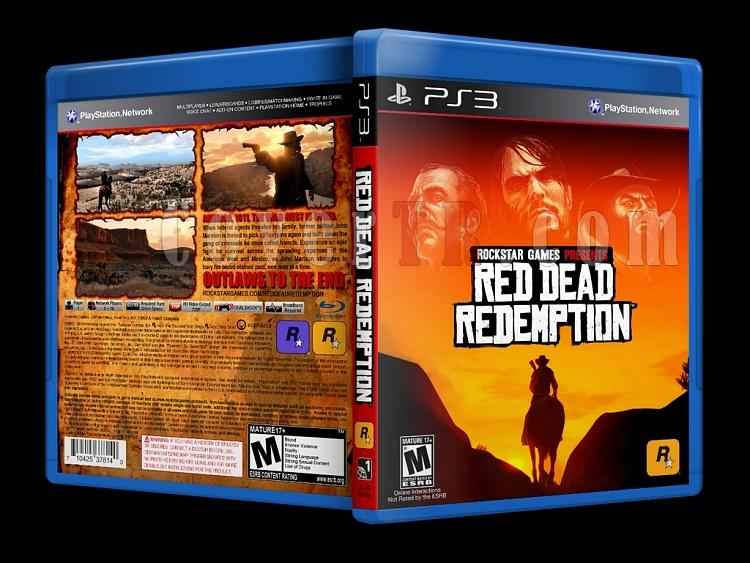 Red Dead Redemption - Custom PS3 Cover - English [2010]-onizlemejpg