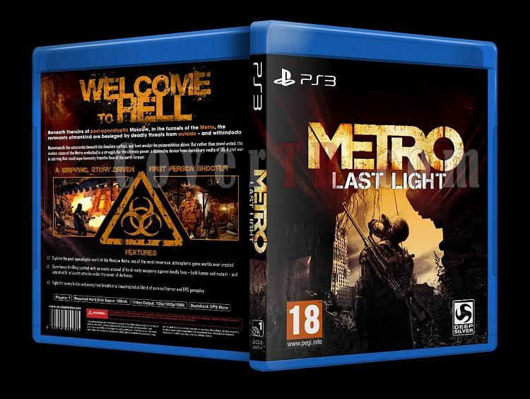 Metro: Last Light - Custom PS3 Cover - English [2013]-metrojpg