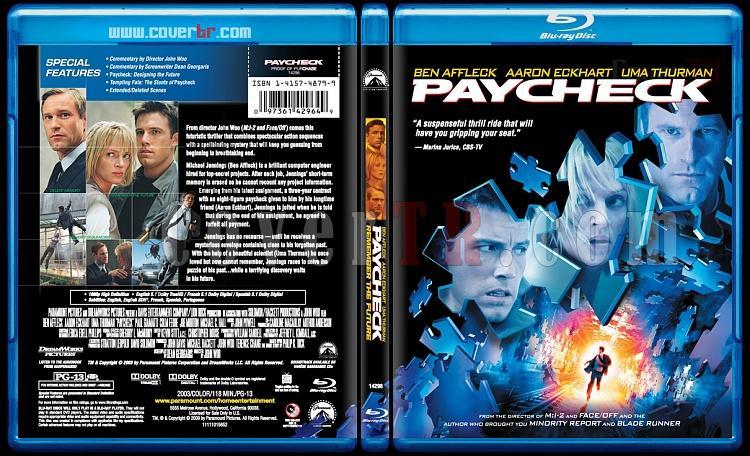 Paycheck (Hesaplaşma) - Scan Bluray Cover - English [2003]-paycheck-bluray-coverjpg