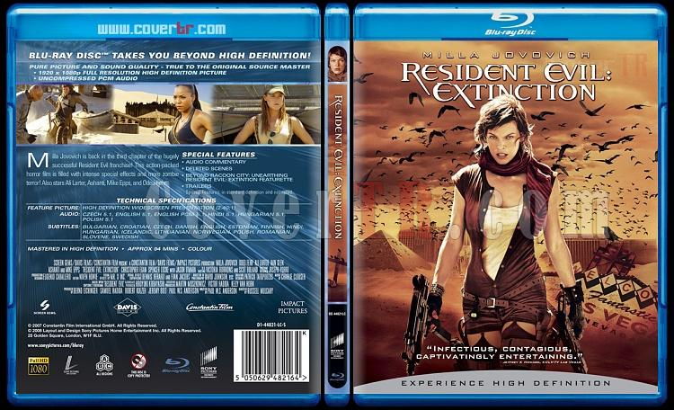 Resident Evil: Extinction (Ölümcül Deney: İnsanlığın Sonu) - Scan Blu-Ray Cover - English [2007]-residentevilextinctionjpg