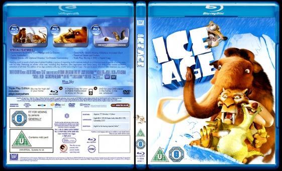 Ice Age (Buz Devri) - Scan Bluray Cover - English [2002]-ice-age-buz-devri-picjpg