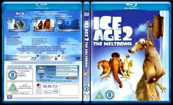 Ice Age: The Meltdown (Buz Devri 2: Erime Başlıyor) - Scan Bluray Cover - English [2006]-ice-age-meltdown-buz-devri-2-erime-basliyor-picjpg