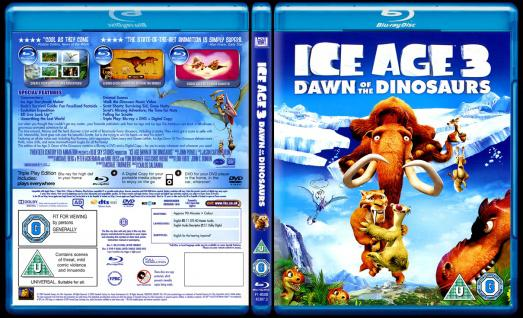 Ice Age 3 Dawn Of The Dinosaurs 2009 Dvd
