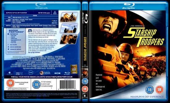 Starship Troopers (Yıldız Gemisi Askerleri) - Scan Bluray Cover - English [1997]-7jpg