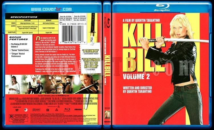 Kill Bill: Vol. 2 - Scan Bluray Cover - English [2004]-kill-bill-vol-2-picjpg