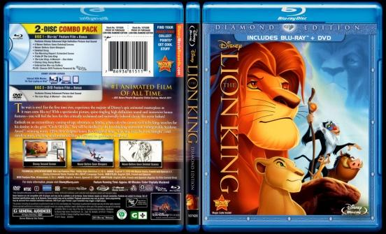 The Lion King (Aslan Kral) - Scan Bluray Cover - English [1994]-lion-king-aslan-kral-picjpg