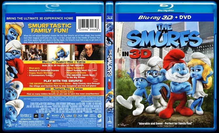 The Smurfs (Şirinler) - Scan Bluray Cover - English [2011]-smurfs-picjpg