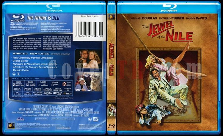 The Jewel of the Nile (Nil'in İncisi) - Scan Bluray Cover - English [1985]-84864jpg