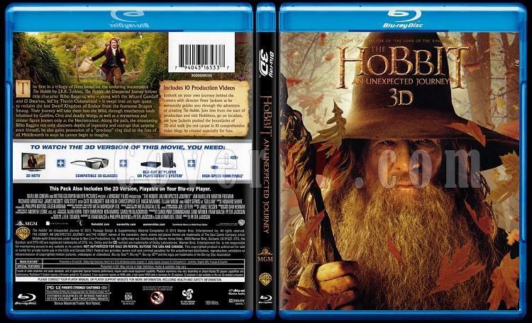 The Hobbit: An Unexpected Journey 3D (Hobbit: Beklenmedik Yolculuk 3D) - Scan Bluray Cover - English [2012]-hobbit-unexpected-journey-3d-hobbit-beklenmedik-yolculuk-3djpg