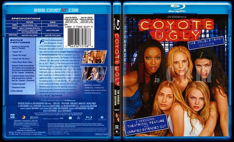 Coyote Ugly (Çıtır Kızlar) - Scan Bluray Cover - English [2000]-onizlemejpg