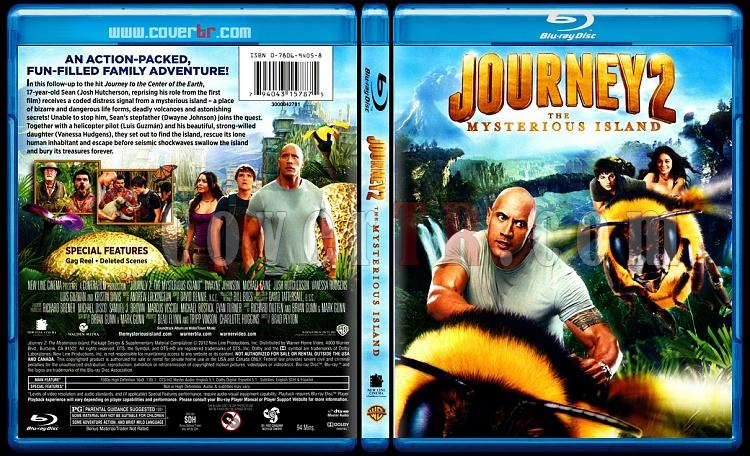 Journey 2: The Mysterious Island (Gizemli Adaya Yolculuk) - Scan Bluray Cover - English [2012]-onizlemejpg