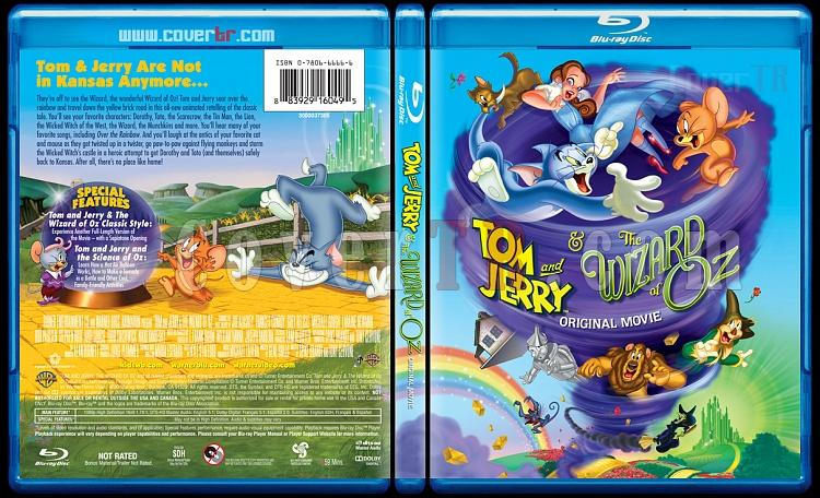 Tom and Jerry & The Wizard of Oz - Scan Bluray Cover - English [2011]-4jpg