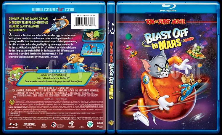 Tom and Jerry Blast Off to Mars! - Scan Bluray Cover - English [2005]-2jpg