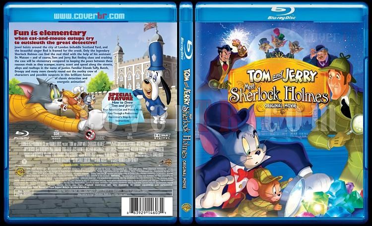 Tom and Jerry Meet Sherlock Holmes - Scan Bluray Cover - English [2010]-1jpg